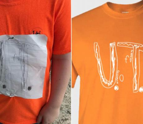 Bullied UT Fan Shirt Design