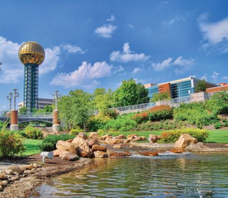 Worlds Fair Park Knoxville, TN